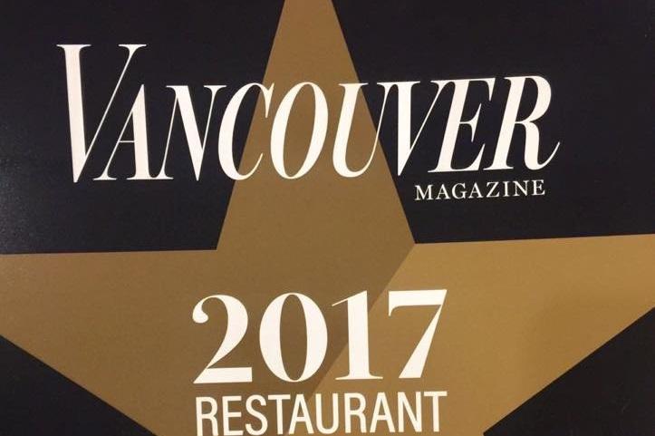 Neighbourhood Hero: Bistro Sakana Wins Bronze at Best Restaurant Yaletown 2017